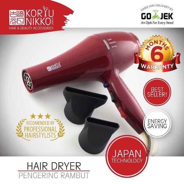 Koryu Nikko Hair Dryer - KN D 15 - 1500 watt - Merah
