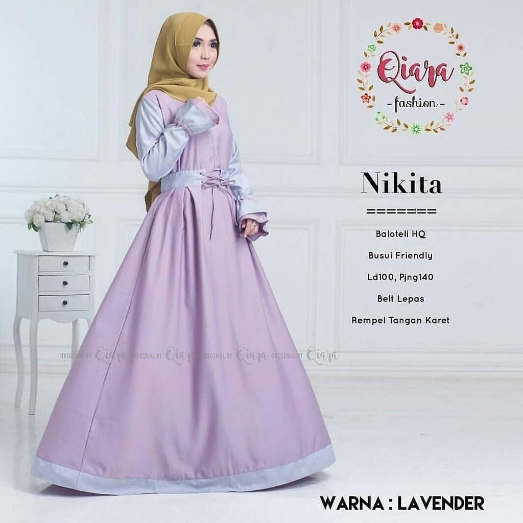 JAKARTA GROSIR -  nikita dress balotelly vg.f Fashion Dress / Atasan / Tunik / size M, L dan XL