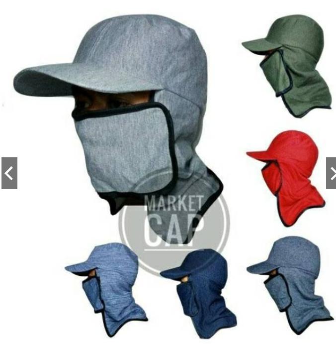 Shinju Topi Jepang Masker Samping I Topi Mancing I Topi Gunung I Topi  Lapangan I Topi 211f2b7725