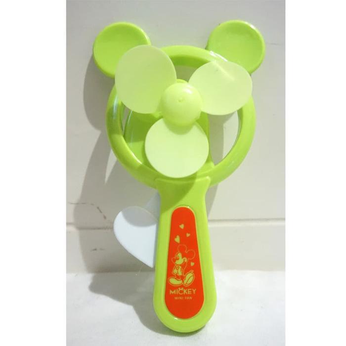 Kipas Angin Manual Mickey Mouse - Kipas Angin Pencet Murah