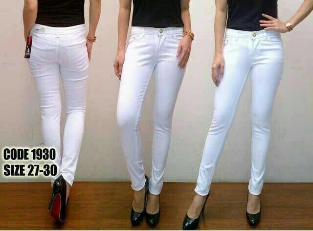Celana Jeans Putih Model Reva Anak Jalanan