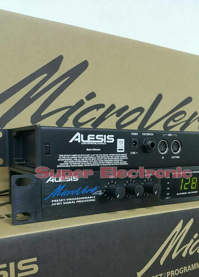 ORIGINAL  Efek Vokal Alesis Microverb 4 Made In Malaysia