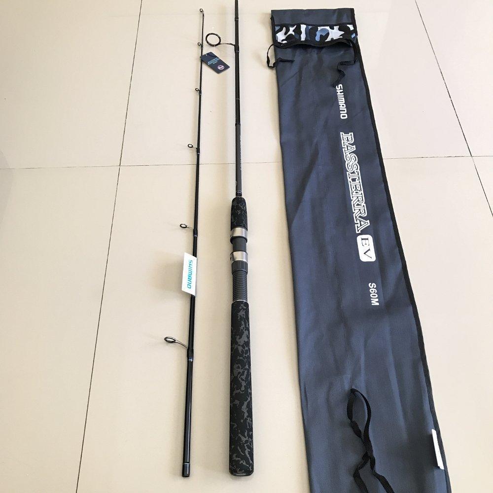 Joran Shimano Bassterra EV 180cm - s60m TERBARU BOS PANCING zerya_fishing