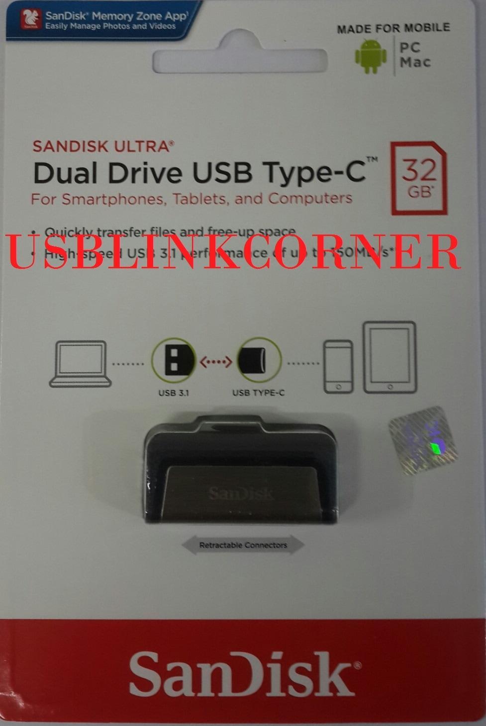 Flashdisk OTG 32gb - SanDisk USB Type C