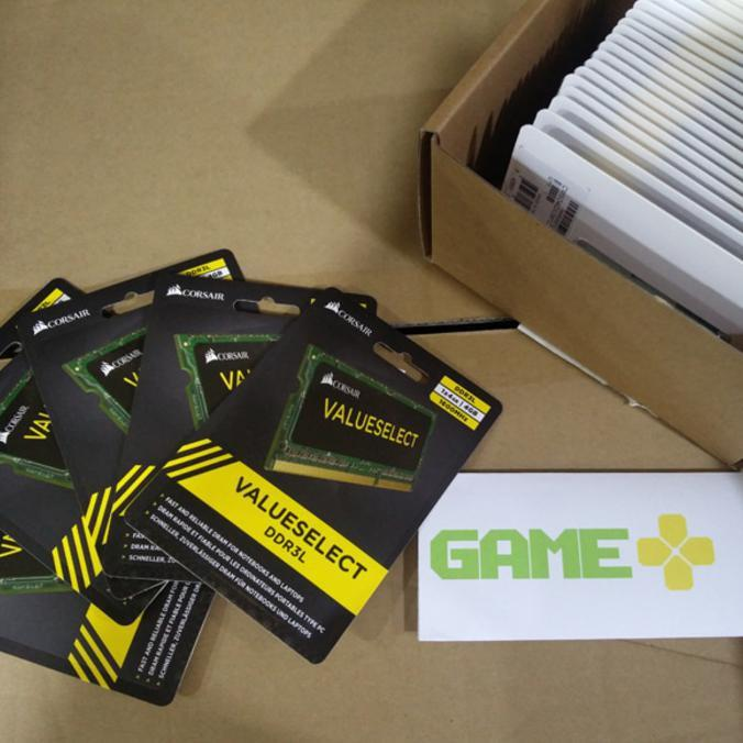 RAM LAPTOP CORSAIR 4GB DDR3L 1600 MHZ SODIMM MEMORY CMSO4GX3M1C1600C11 - ELEKTROZONE
