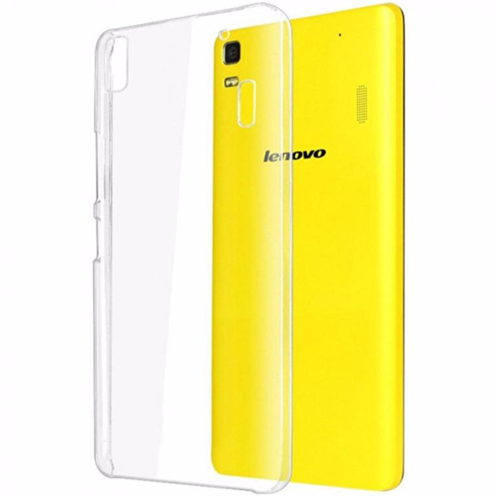 Bendoel Aircase for Lenovo A7000 / K3 Note / A7000+ Plus | Softcase Ultrathin Anti Crash - Putih Tr