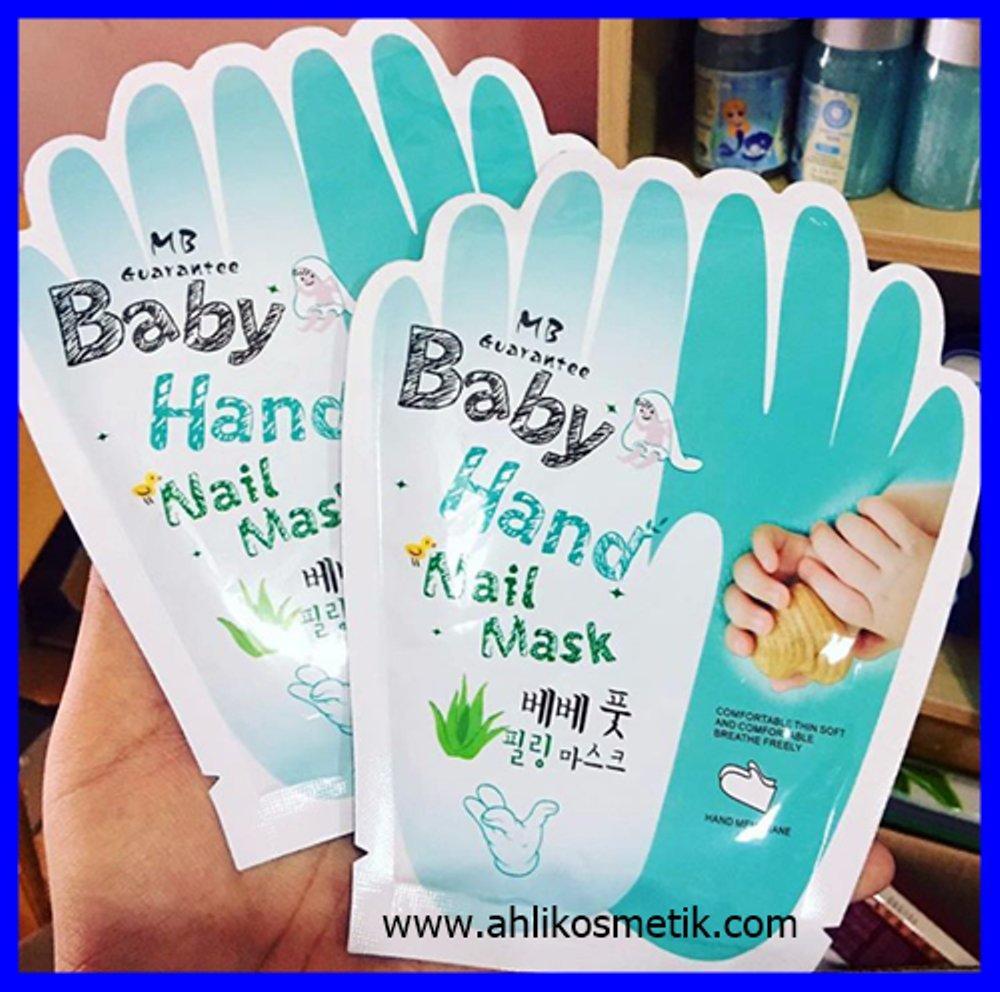 Special Price - Baby Hand Nail Mask / Masker Tangan Lembut / Original 100% - Perawatan Tubuh - Perawatan Tangan - Solusi Tangan Kasar - Obat Kapalan - Obat Tangan Keras - Obat Kulit Tangan Pecah - Solusi Kulit Tangan Belang - Isi 1 Pasang - Best Seller By Modis-Shop.