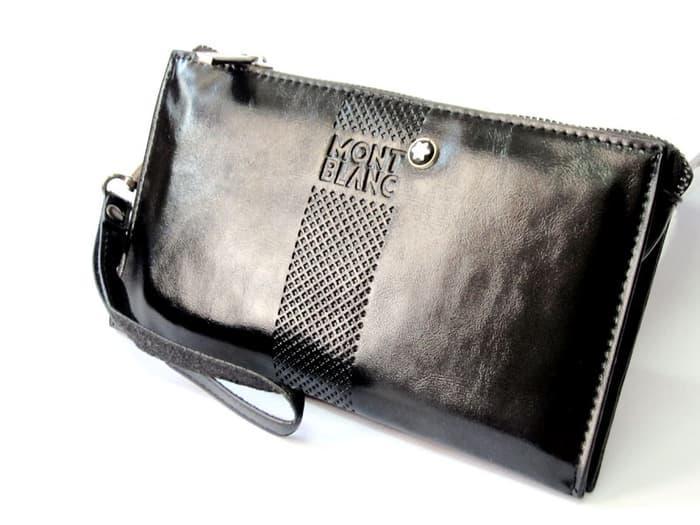 Handbag dompet Pria Wanita kulit import premium muat Hp android paspor Terkini