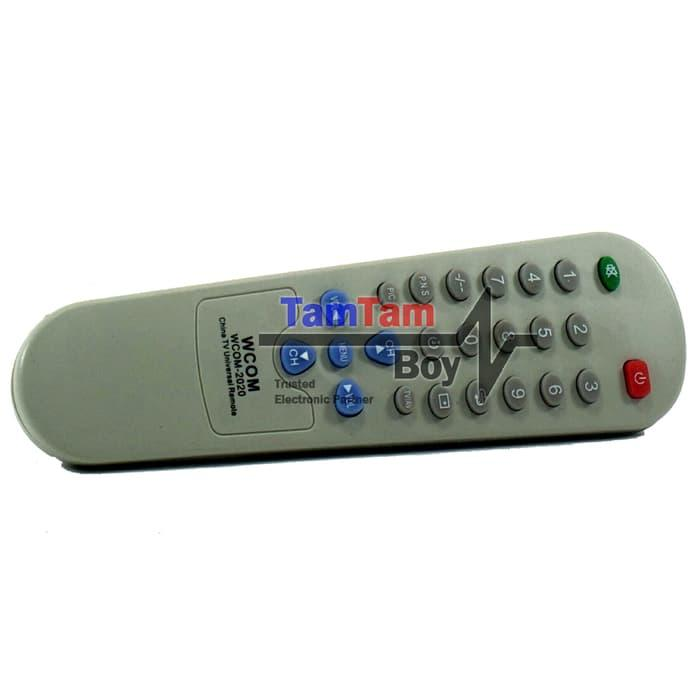 Best Seller!! Remote Control Universal Tv Tabung\U002Fcrt Untuk Semua Tv Cina (Sanyo Dll) - ready stock