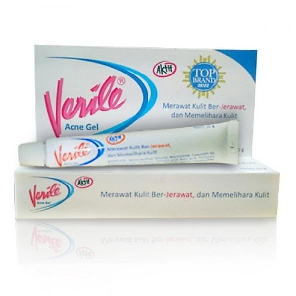 Verile Acne Gel 10 gr / menghilangkan jerawat aktif - Kecantikan - Perwatan wajah