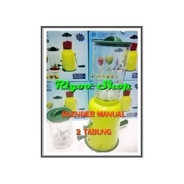 Blender Manual Tanpa Listrik 2 Tabung Menggunakan Putaran Tangan Eng