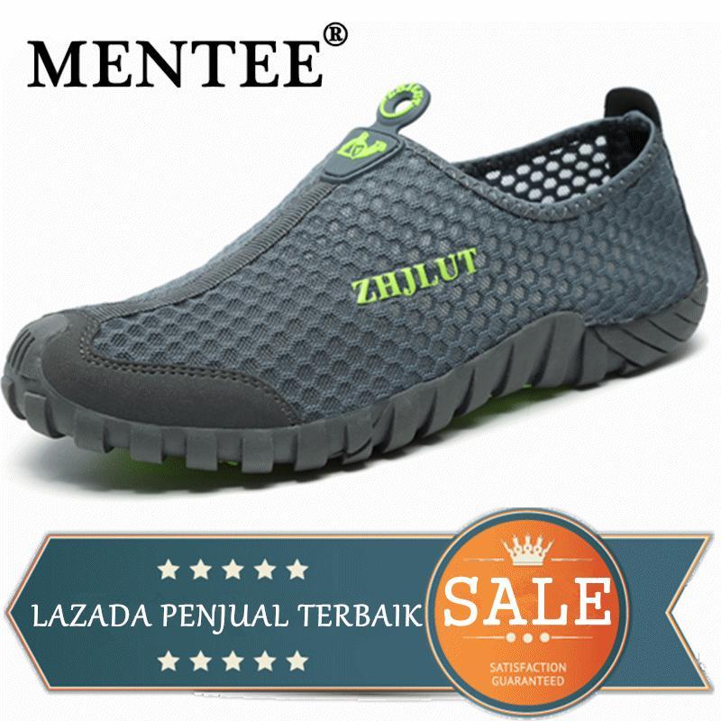 MENTEE Ukuran 36-44 Pria Dan Wanita Sepatu Hiking Ringan Cepat kering Aqua Sepatu Fashion Sepatu Pria Sepatu Kasual Sneaker