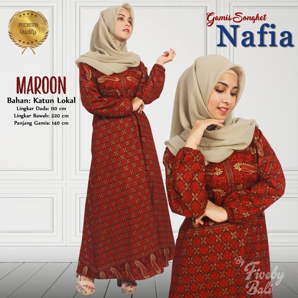 Gamis Songket Nafia Fiveby Bali