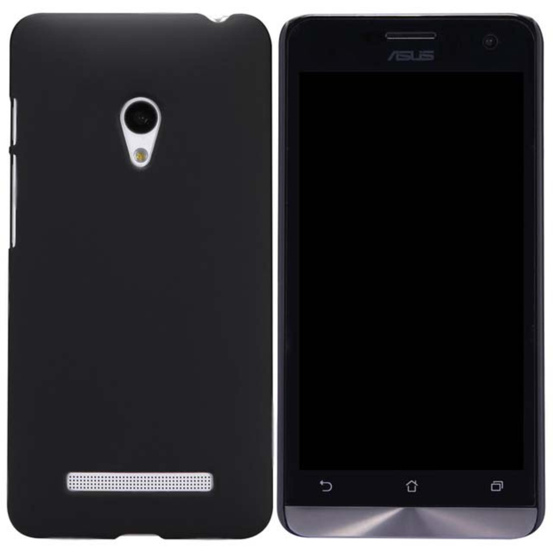 DarkNight for Asus Zenfone 5 / Lite / A500CG / A502CG   Slim Case Black Matte Softcase Premium (Anti Minyak/Anti Sidik Jari) - Hitam Doff
