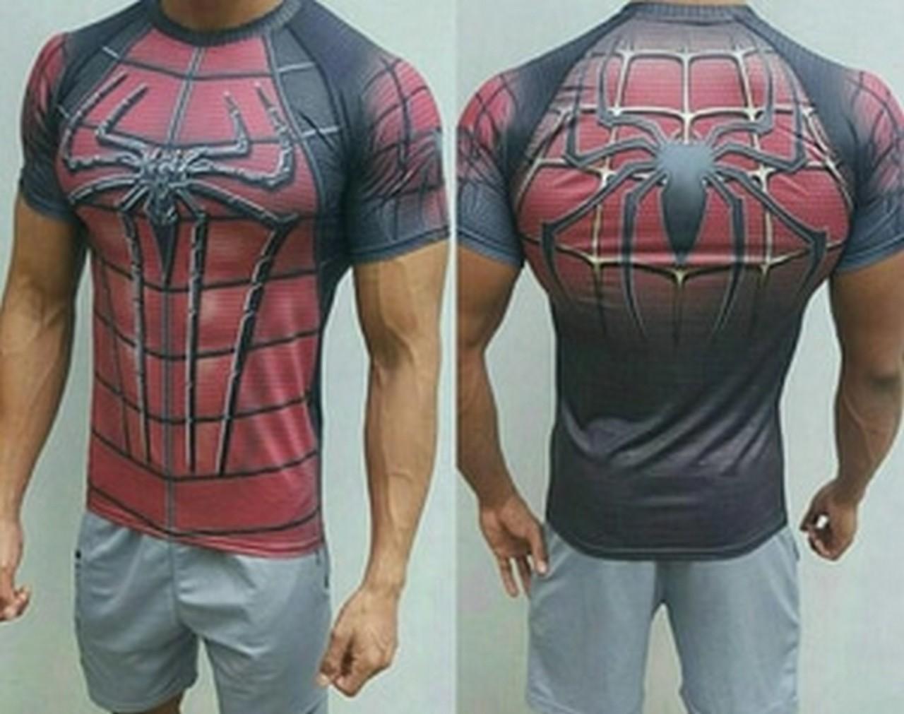 Kaos Manset Baselayer Under Armour Spiderman New - Special Edition DISKON!!!