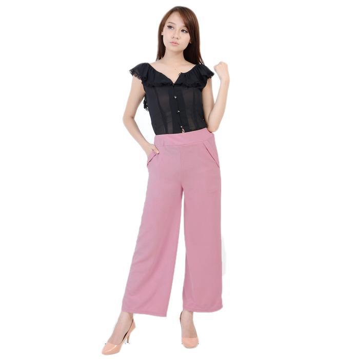 Celana Kulot Panjang Simpel Elegan