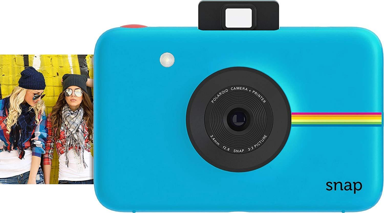 Jepretan Polaroid Instan Kamera Digital dengan ZINK Zero Tinta Cetak Teknologi