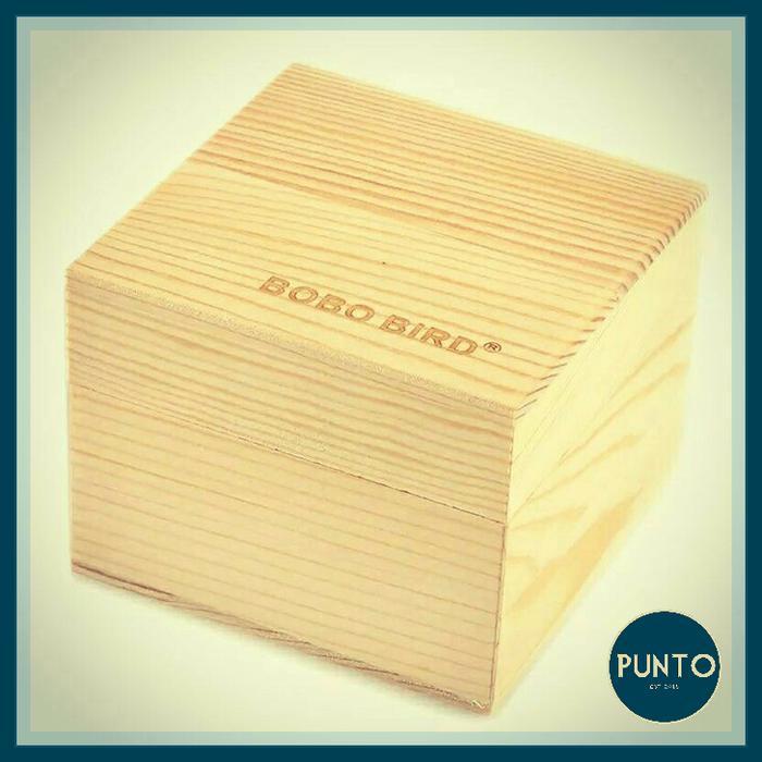 Bobo Bird Box Square / Kotak Jam Tangan / Kotak Kado / Kotak Unik / Kotak Lucu / Kotak Hadiah / Kotak Jam Pria / Kotak Jam wanita