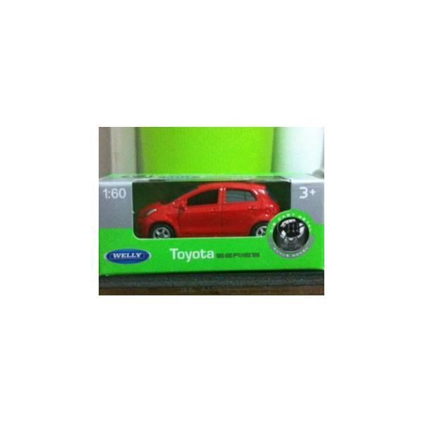 Welly Toyota Yaris (Red) - I3o7lg