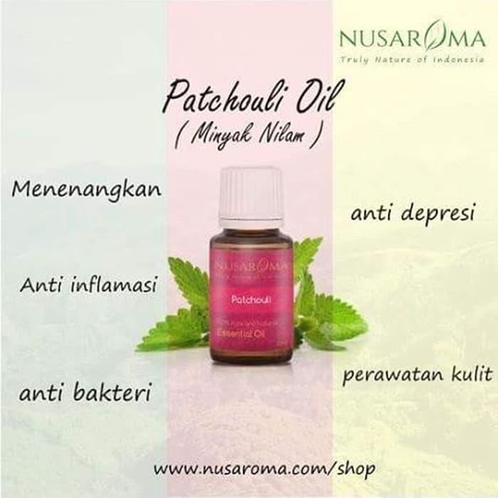 SALE - Patchouli Essential Oil (Minyak Nilam) - 10ml | 100% Pure Natural