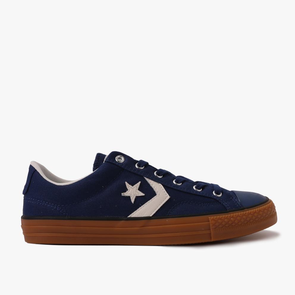 Converse Star Player Ox Men's Sneakers Shoes - Biru Tua