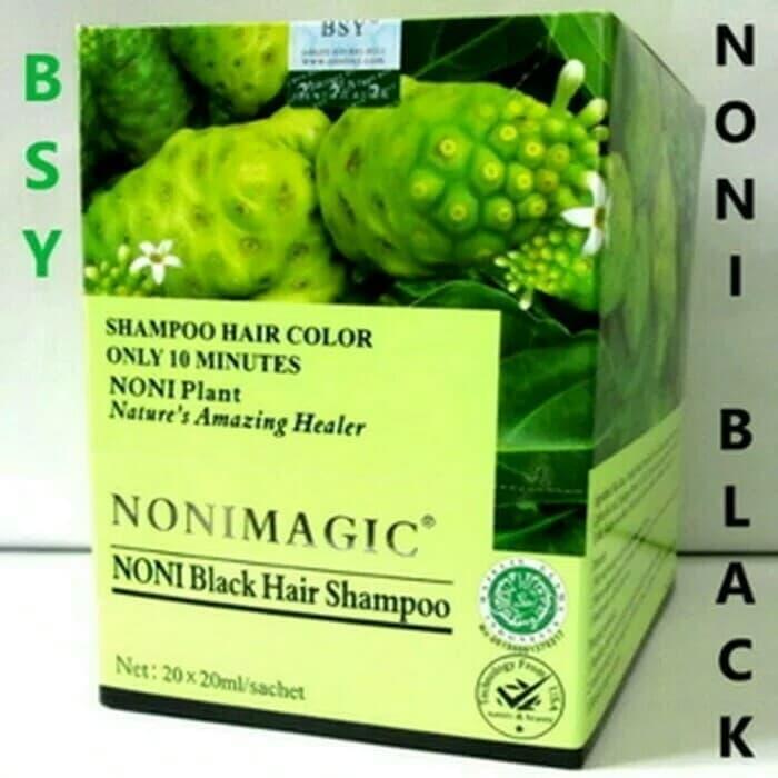 Bsy Noni Magic Black Hair Shampo Halal Original Bpom - Bsy Noni Magic / Aneka Sampo Perawatan Rambut Murah Terbaru Terlaris By Ard Kosmetik Murah.