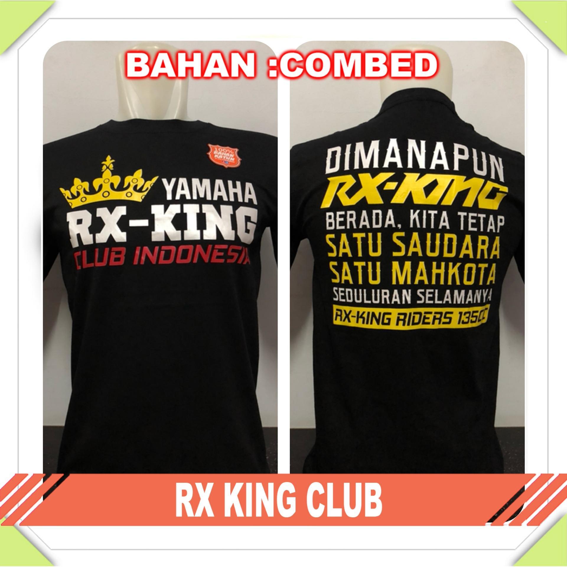Anime Jaya - Kaos T-Shirt Distro / kaos Pria / Tshirt Pria / Distro Pria / Baju Pria RX King Club -