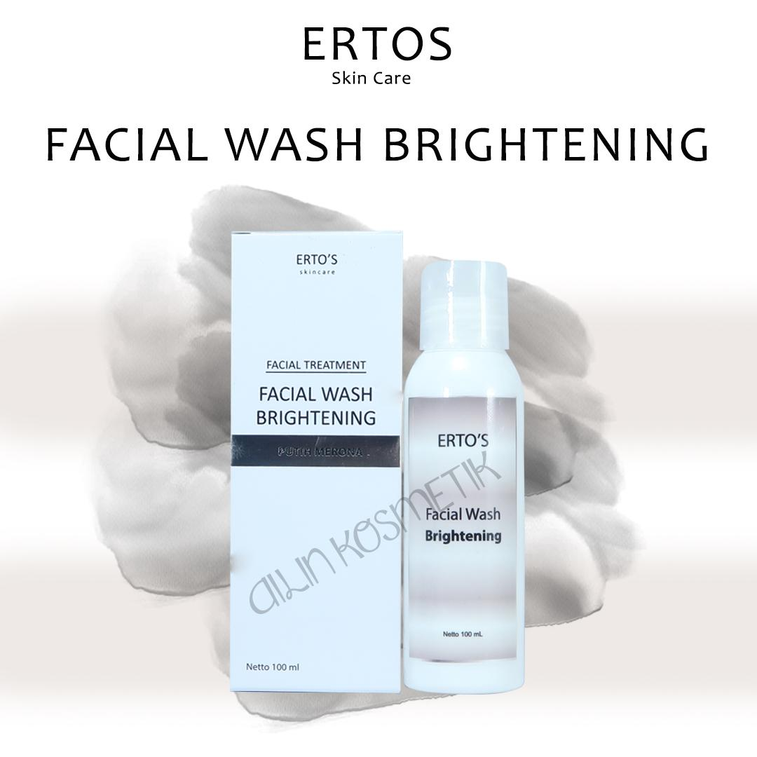 Buy Sell Cheapest New Ertos Facial Best Quality Product Deals Facian Treatment Wash Brightening Putih Merona