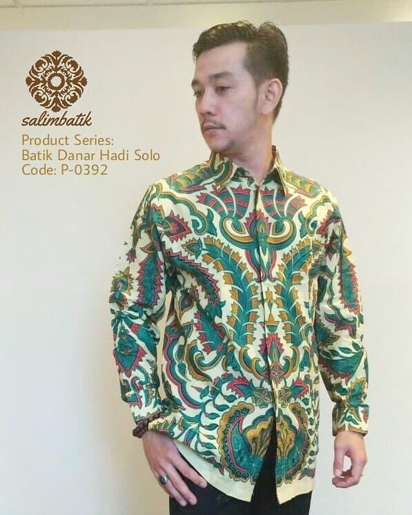 Diskon 10%!! Danar Hadi Kemeja Batik Bagus Dan Elegan - ready stock
