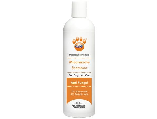 Hemat 15% RAID ALL MICONAZOLE (ANTI FUNGAL) SHAMPOO FOR DOG AND CAT 200ML - ready stock