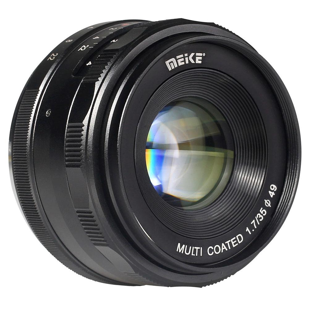 MEIKE 35mm f/1.7 Manual Focus APS-C for Canon EF-M