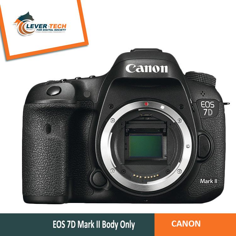 Canon Eos 7d Mark Ii Kamera Dslr [body Only] - Hitam By Indo Clevertech.