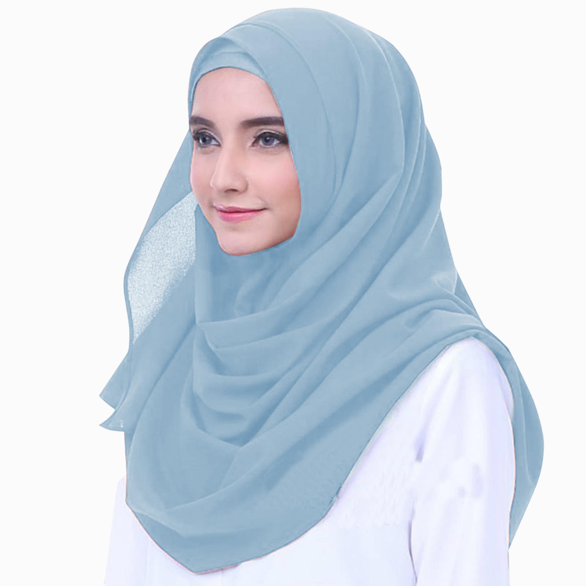1930 Hijab Pashmina Instan 2 Loop Ceruti