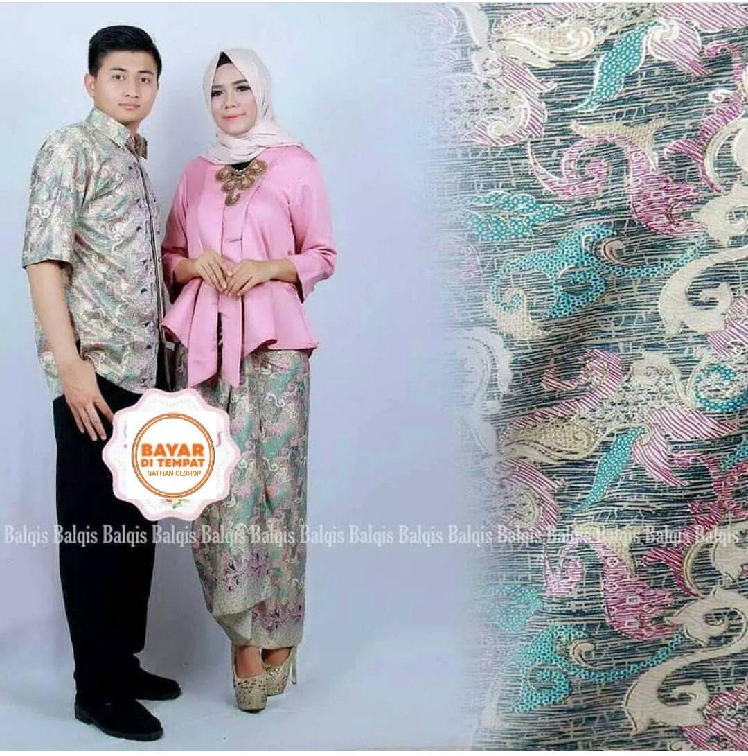 Setelan Couple Baju Batik kebaya   Kebaya Modern  kebaya couple  keluarga kebaya tradisional  40bae757be