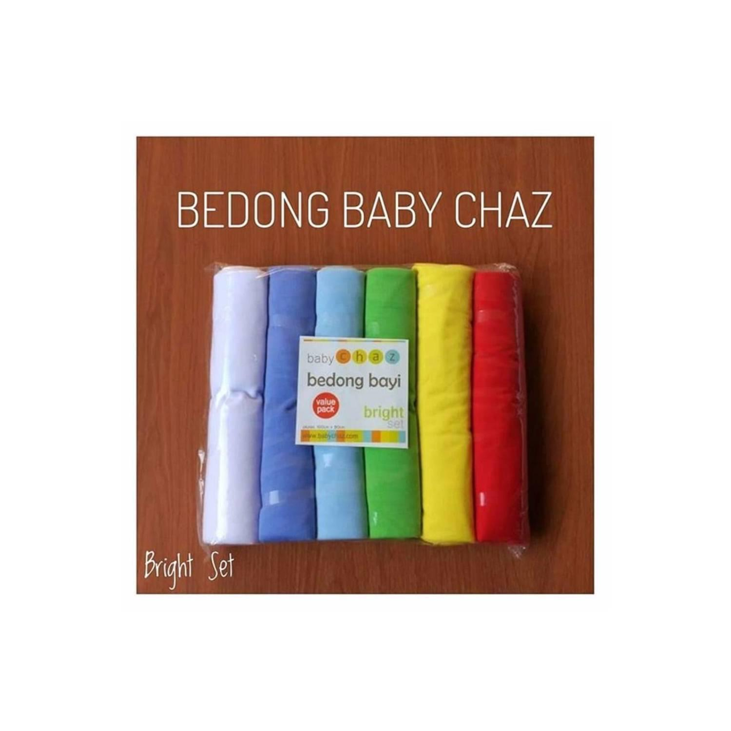 Buy Sell Cheapest Promo Bedong Selimut Best Quality Product Deals Baby Chaz Bayi Rainbow 6pcs Pack Isi 6 Bright Set Terlaris Exclusive