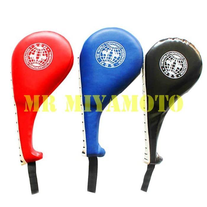 HOT PROMO!!! Target Tendang TAEKWONDO KARATE Mitt Kick Pad DOUBLE - XK0dxV