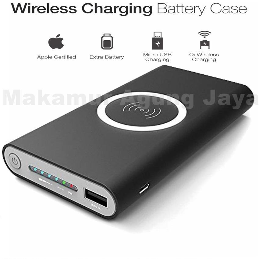 MAJ-Powerbank wireless series Q1 new pertama di indonesia 10000mAh Suport for android - ios Compotible for Samsung galaxy note5 Samsung Galaxy: Note 8, S8, S8+, S7, S7 Edge, Note 5, S6, S6 Edge, Apple: iPhone X, iPhone 8, iPhone 8+