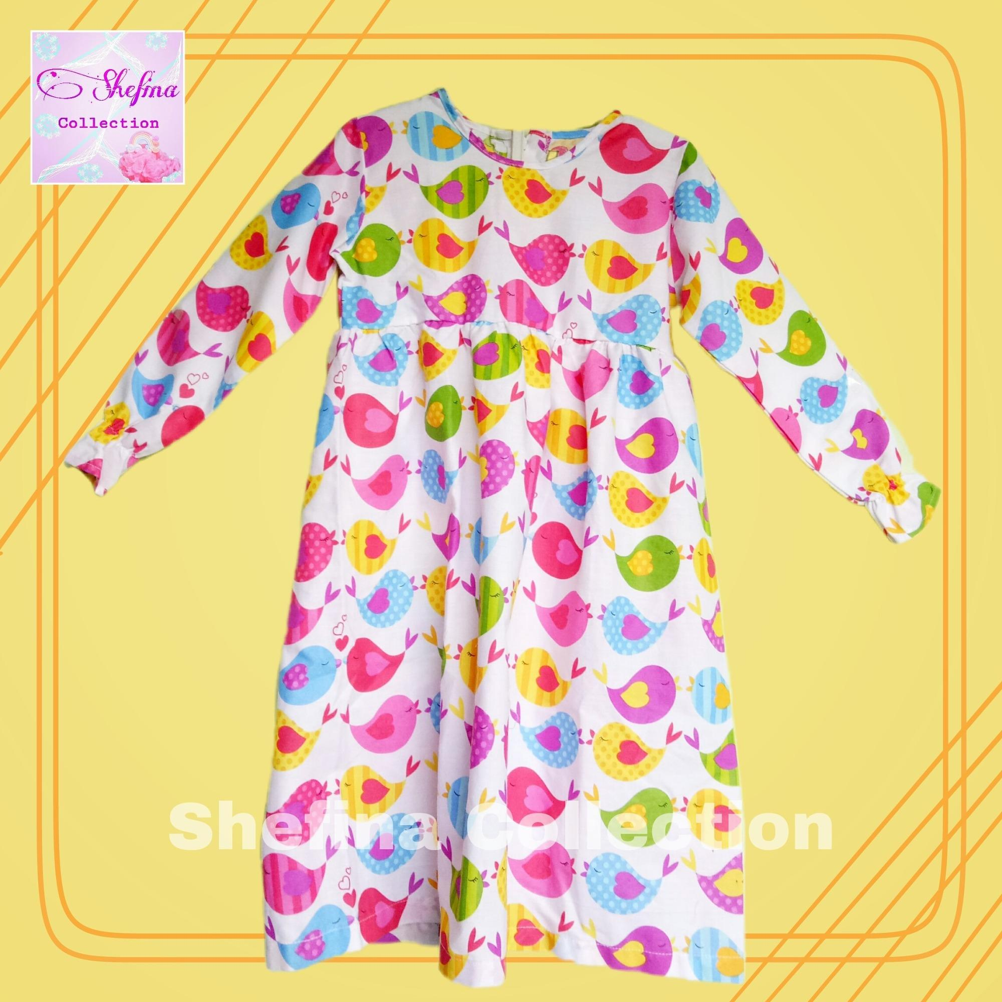 Buy Sell Cheapest Gamis Katun Anak Best Quality Product Deals Bahan Bird