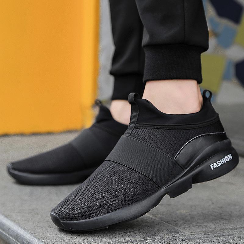 DanJi Baru Merek Mens Sport Menjalankan Sepatu Bernapas Mesh Sepatu  Sneakers Sepatu Kasual Pria 39- afff1ebd51