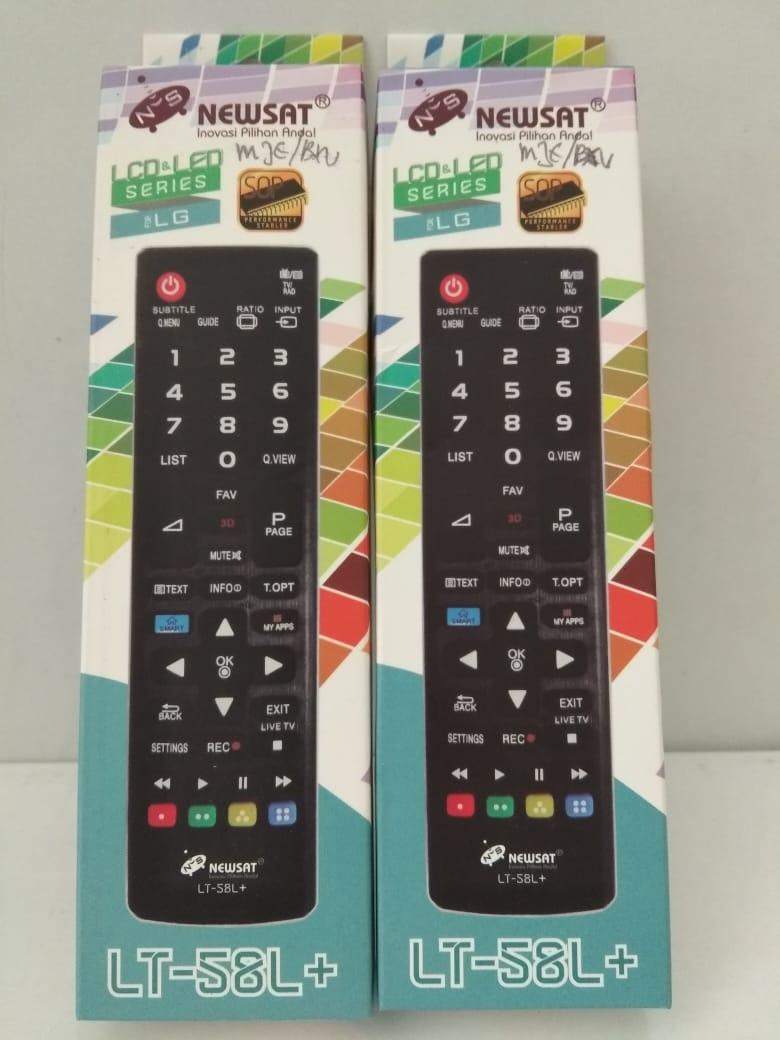 remot remote LG lcd led newsat