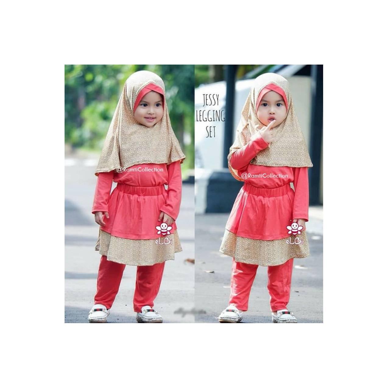 gamis anak kecil I jual grosir baju anak I baju muslim bayi I Jessy