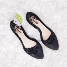 Flat Shoes Jelly Wanita - Sepatu Balet Full Jelly 190 Warna Dikirim Acak