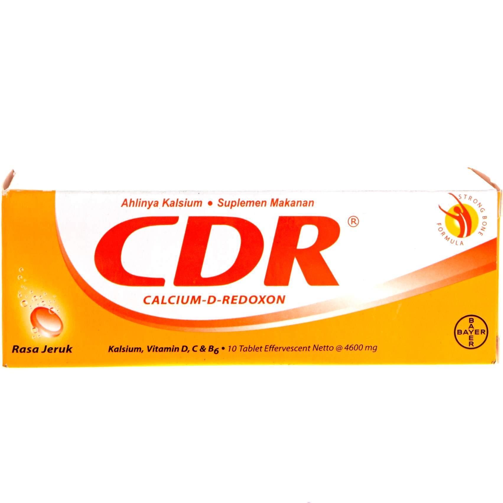 Cdr Redoxon Tablet Isi 15 Effervescent Jeruk 10