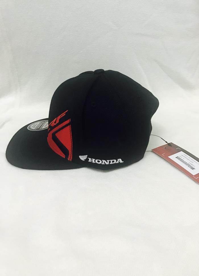 Hemat 10%!! Topi Honda Crf Snapback Snap Back Cap Hat Topi Honda Hitam Black Ori - ready stock