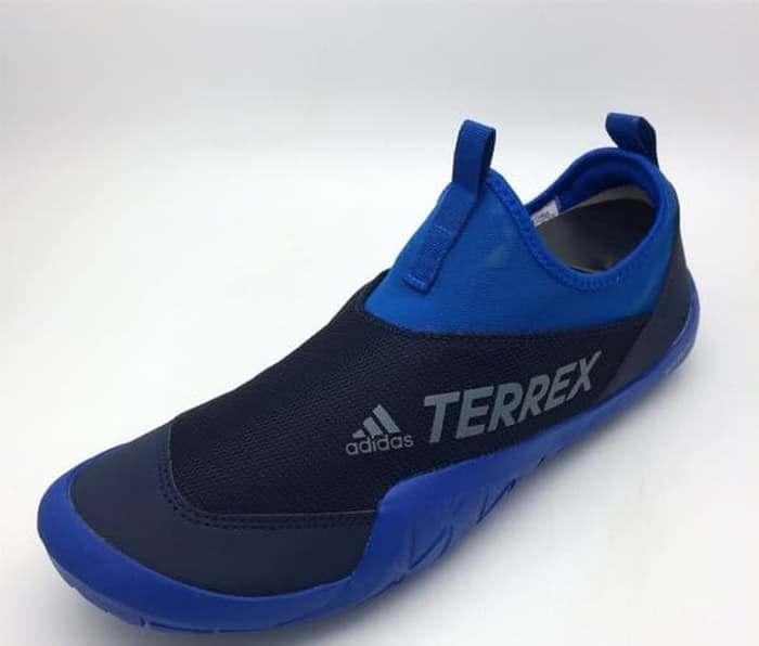 Sepatu Outdoor Adidas Original Terrex CC Jawpaw II Blue Beauty CM7533 6c10c14857