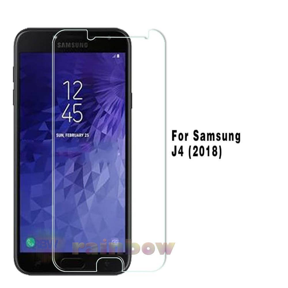 Rainbow Tempered Glass Samsung Galaxy J4 2018 Screen Protector Samsung J4 2018 Temper Samsung J4 2018 / Pelindung Layar Hp / Anti Gores Kaca / Screen Guard / Temper Glass Samsung J4 2018 - Clear