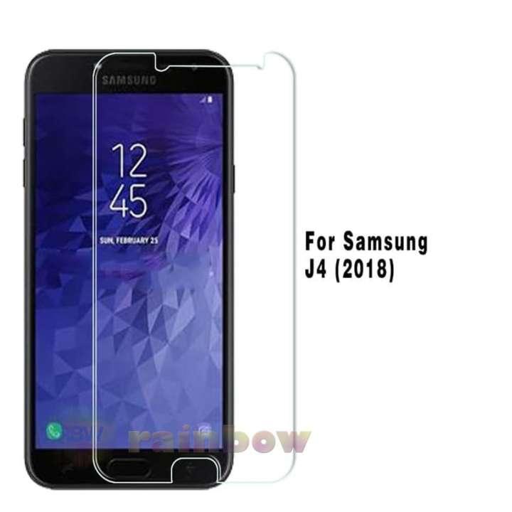 Rainbow Tempered Glass Samsung Galaxy J4 2018 Screen Protector Samsung J4 2018 Temper Samsung J4 2018 / Pelindung Layar Hp / Anti Gores Kaca / Screen Guard ...