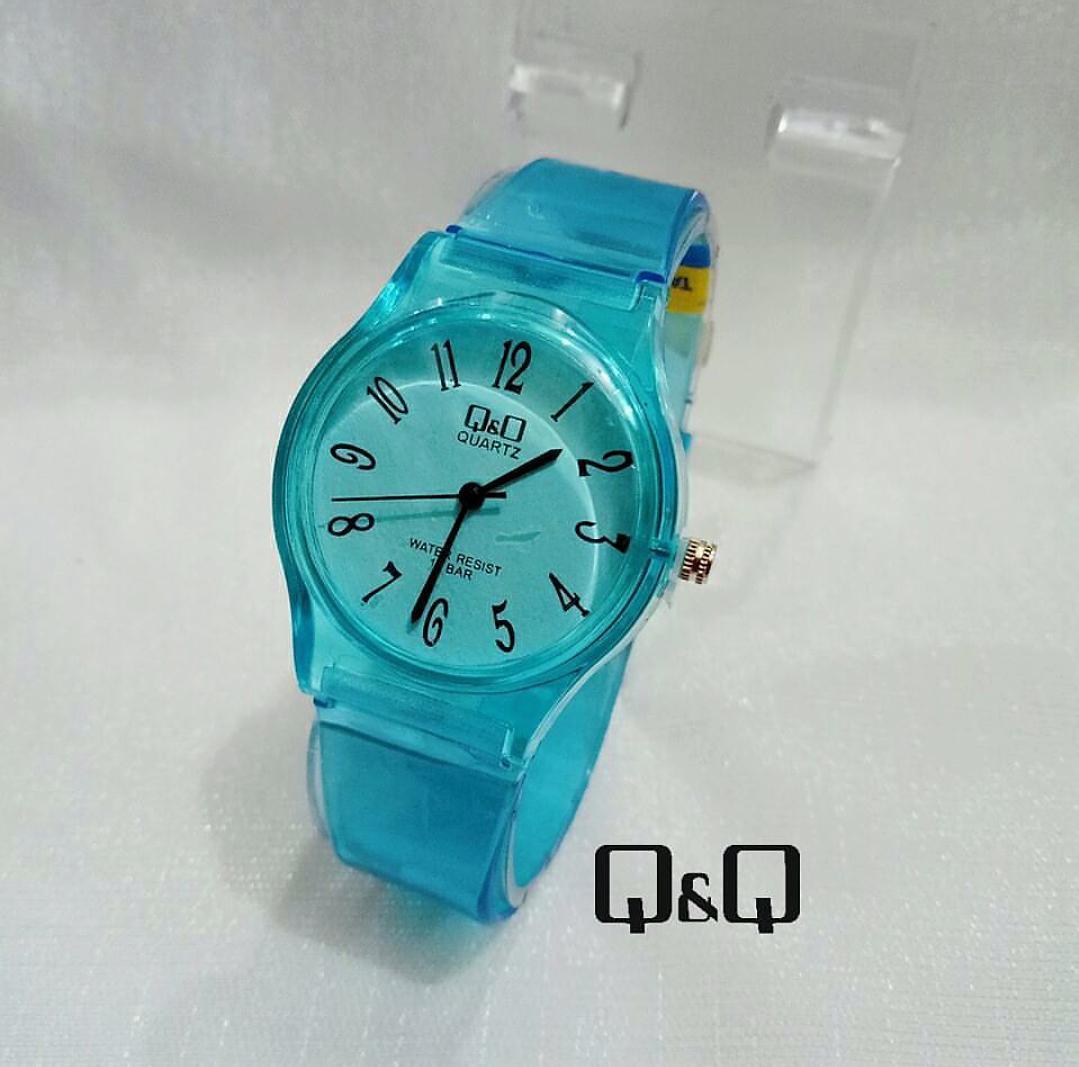 Jam Tangan QQ – Jam Tangan Wanita Anak Perempuan – Jam Tangan QnQ Transparan  – Model Terbaru d2b729d5f8