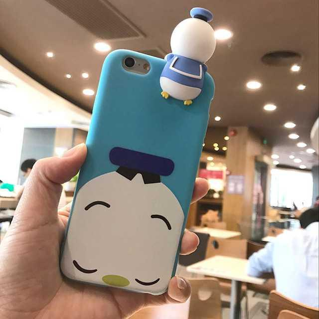Casing Hp Casing 3D Cartoon Disney Tsum Tsum for iPhone 7/8 Murah Lucu