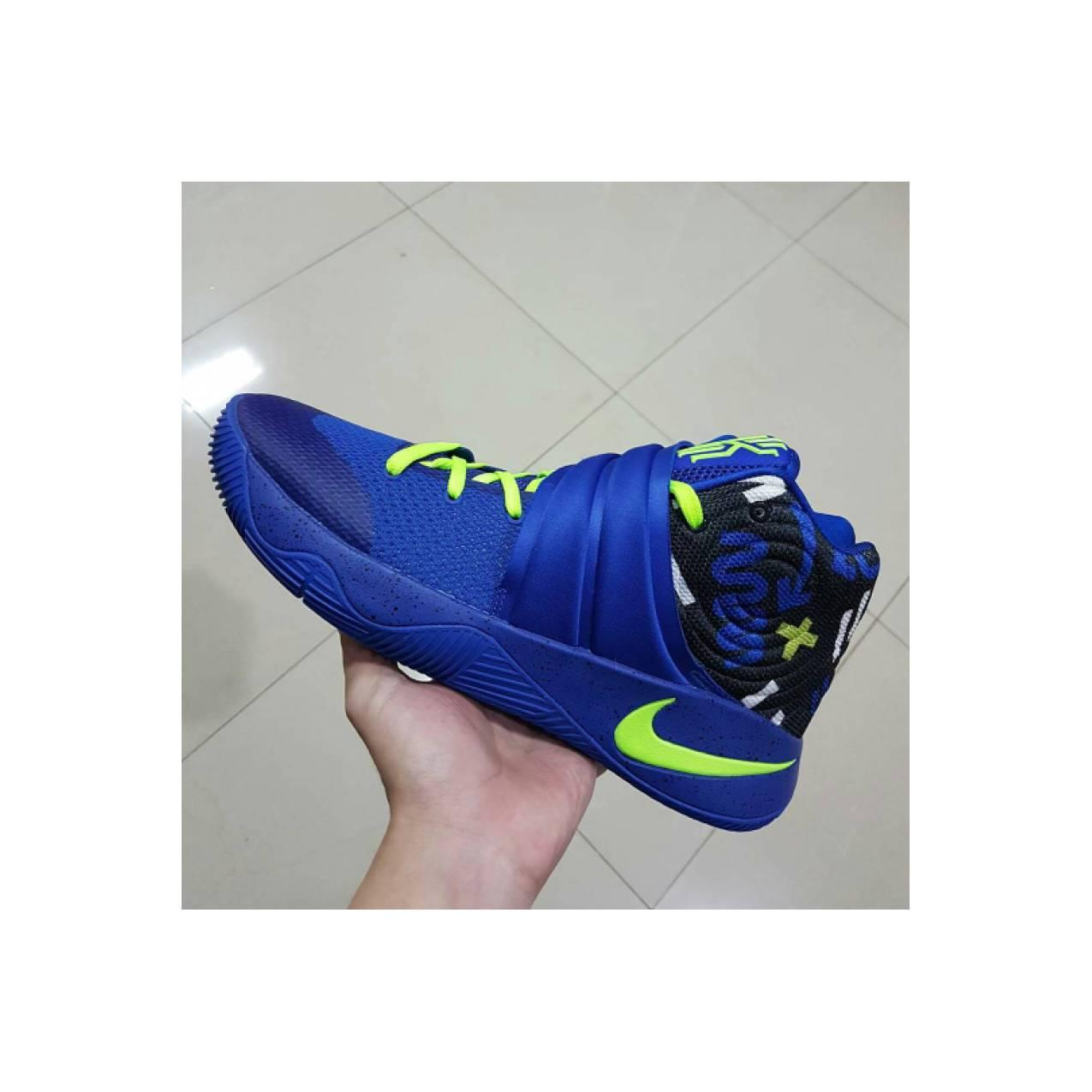Sepatu Basket Nike Kyrie 2 Blue Biru Premium Original / Air Jordan